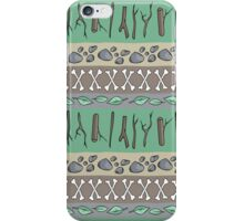 Sticks & Stones & Bones iPhone Case/Skin