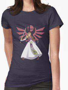 Smash Bros - Zelda Womens Fitted T-Shirt