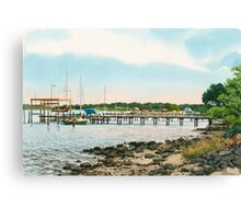 St Michael's Chesapeake Bay 2 Canvas Print