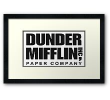Dunder Mifflin Paper Company Framed Print