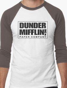 Dunder Mifflin Paper Company Men's Baseball ¾ T-Shirt