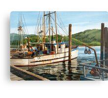 Yaquina Bay Oregon Coast Metal Print
