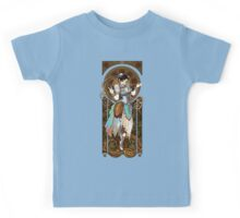 Strongest Woman in the World  (Art Nouveau China) Kids Tee