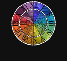 Color Wheel Clock Unisex T-Shirt