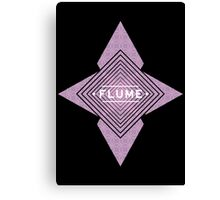 Flume - Stars black  Canvas Print