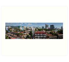 Cebu City Philippines Panorama Art Print