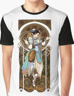 Strongest Woman in the World  (Art Nouveau China) Graphic T-Shirt