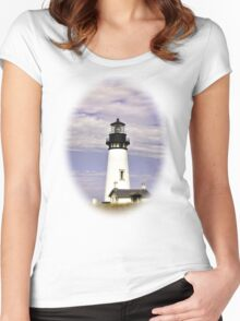 Newport Oregon - Protect Our Ships Women's Fitted Scoop T-Shirt