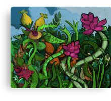 Botanical Boogie Canvas Print