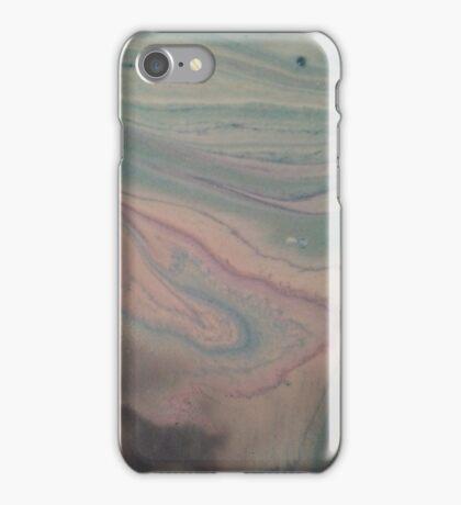Blue Agate iPhone Case/Skin