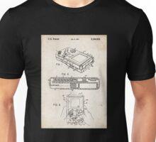 1993 Nintendo Gameboy Video Game Invention Patent Art Unisex T-Shirt