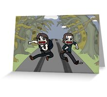 The Walking Dead, Rick and Daryl, Apocalypse Time Greeting Card