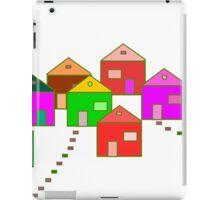 The village digital art iPad Case/Skin