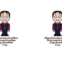 Arthur from Cabin Pressure (mug) by redscharlach