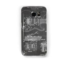 1956 Fender Stratocaster Guitar Invention Patent Art, Blackboard Samsung Galaxy Case/Skin