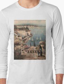 RAIDEN VS SUB ZERO Oil Painting Long Sleeve T-Shirt