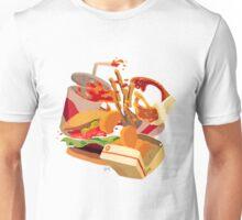 RIP lunch - non-pattern Unisex T-Shirt