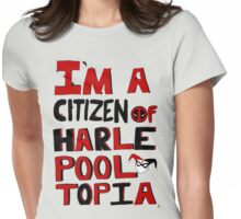 Citizens Of Harlepooltopia Unite! Womens Fitted T-Shirt