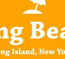 Long Beach Long Island  Sticker