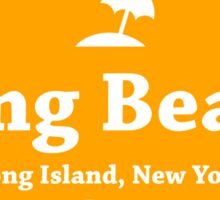 Long Beach Long Island  Sticker