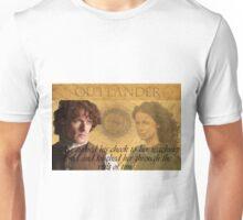 Outlander/Quote from The Scottish Prisoner. Unisex T-Shirt
