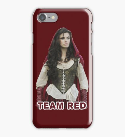Team Red OUAT iPhone Case/Skin