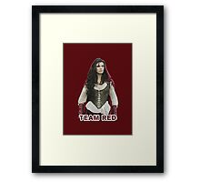 Team Red OUAT Framed Print