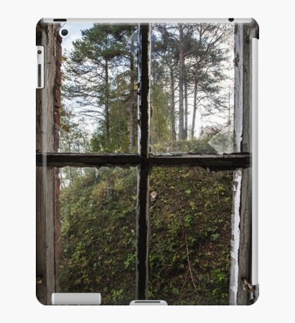 View from Decay II iPad Case/Skin