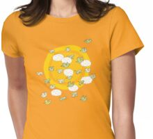 flock of wild parrots Womens Fitted T-Shirt