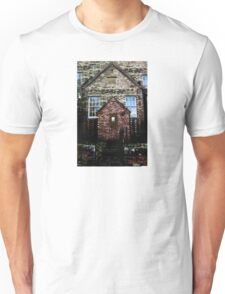 Creepy Church Design Unisex T-Shirt