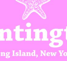 Huntington Long Island New York  Sticker