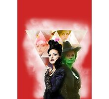 Regina and Zelena OUAT Photographic Print
