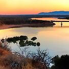Port Augusta - Red Banks at Dawn by Georgie Sharp