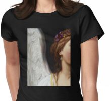 The Angel With The Pearl Earrings closeup Womens Fitted T-Shirt