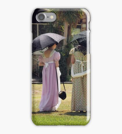 Regency Picnic iPhone Case/Skin
