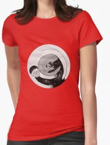 To sleep with a cat.. Womens Fitted T-Shirt