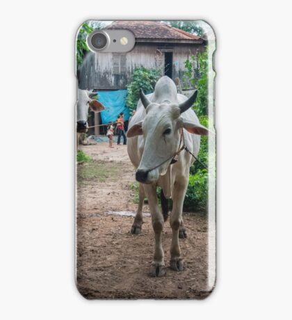 Cambodian Village iPhone Case/Skin