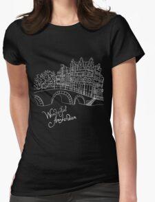 Wonderful Amsterdam Womens Fitted T-Shirt