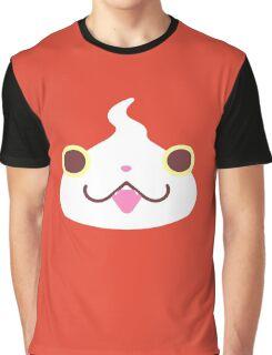 Jibanyan Face Graphic T-Shirt