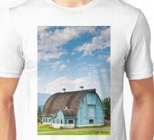 Blue Barn in the Stillaguamish Valley Unisex T-Shirt