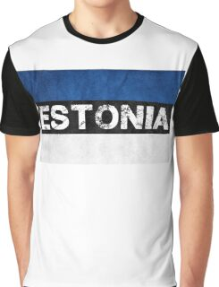 Estonian Pride Shirt Graphic T-Shirt
