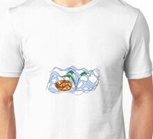 Sleeping Fox Unisex T-Shirt