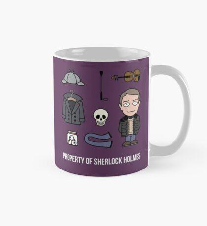 Property of Sherlock Holmes (mug) Mug