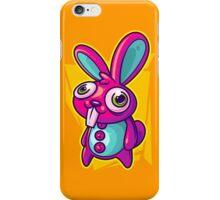 Three Speed Rabbit iPhone Case/Skin