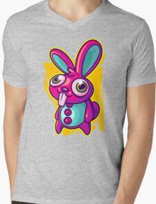 Three Speed Rabbit Mens V-Neck T-Shirt