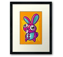 Three Speed Rabbit Framed Print