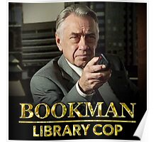 Bookman Library Cop Poster