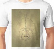 Vitruvian Guitar Unisex T-Shirt