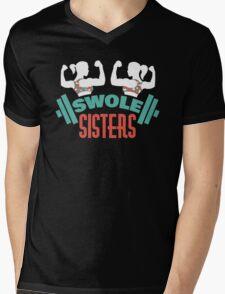 Swole Sisters Mens V-Neck T-Shirt