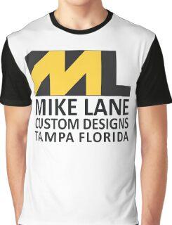 Mike Lane Custom Designs Logo Graphic T-Shirt